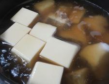 豆腐と鱈(たら)の中華風煮込み 調理③