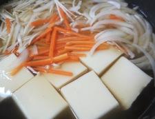 豆腐と鱈(たら)の中華風煮込み 調理④