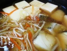豆腐と鱈(たら)の中華風煮込み 調理⑤