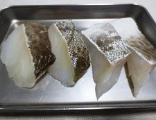 豆腐と鱈(たら)の中華風煮込み 材料②