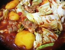 鶏肉とキャベツのトマト煮 調理⑤