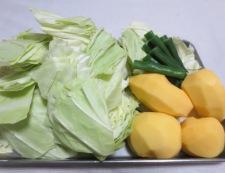 鶏肉とキャベツのトマト煮 【下準備】②