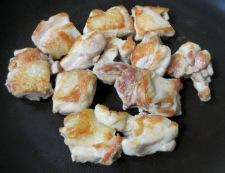 鶏肉とキャベツのトマト煮 調理①