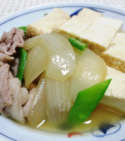 お焼きと豚肉の煮物 B