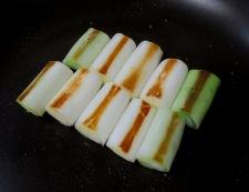 イカの柚子こしょう照り焼き 調理①
