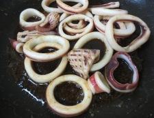 イカの柚子こしょう照り焼き 調理③