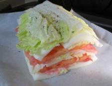 白菜と豚こまトマトの重ね焼き 調理④