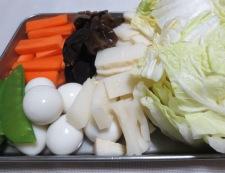 豚こま八宝菜 【下準備】②