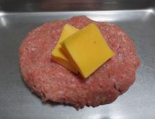 チーズインハンバーグ 調理③