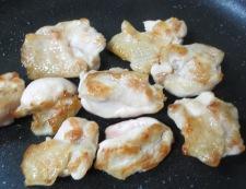 鶏たま親子豆腐 調理②