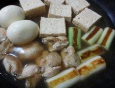 鶏たま親子豆腐 調理④