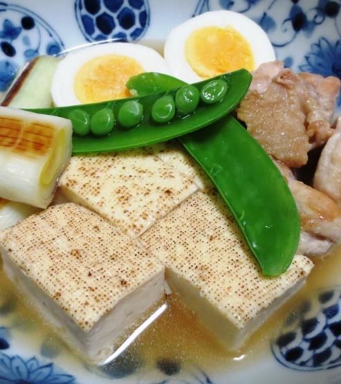 鶏たま親子豆腐 拡大