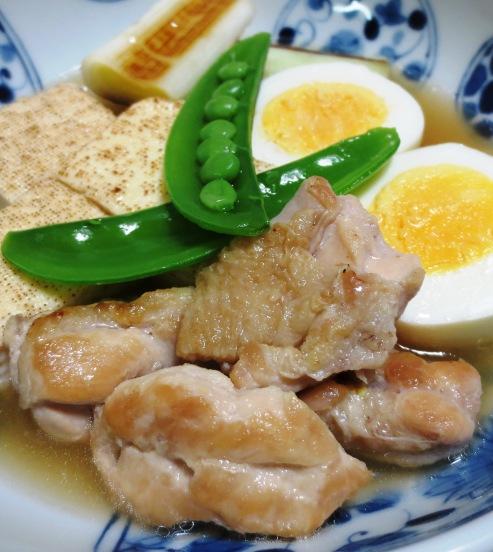 鶏たま親子豆腐 大
