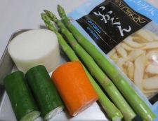 いかくんスティックサラダ 材料①