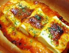 豆腐のオーロラチーズ焼き 調理④