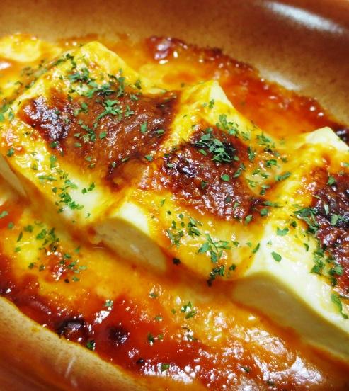 豆腐のオーロラチーズ焼き B