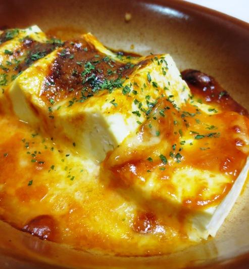 豆腐のオーロラチーズ焼き 大②
