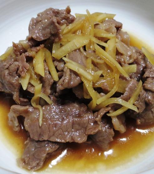 牛肉のしぐれ煮 B