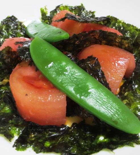 トマトと韓国海苔のサラダ B