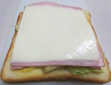 キャベツとハムのサンドイッチ 調理⑤