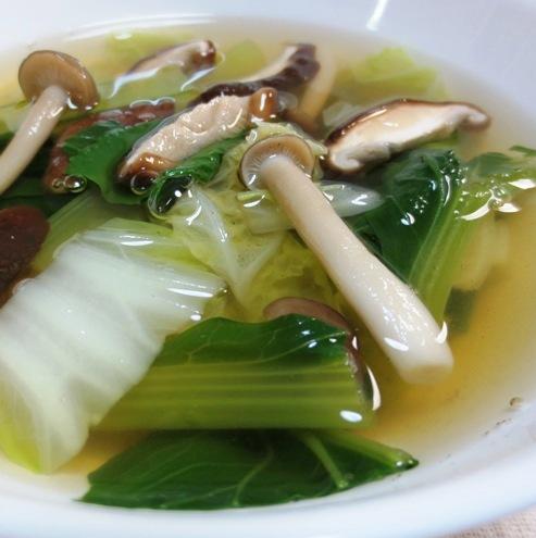 小松菜スープ 大