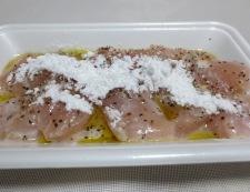 鶏むね肉のペハーソテーしょうがオニオンソース 調理②