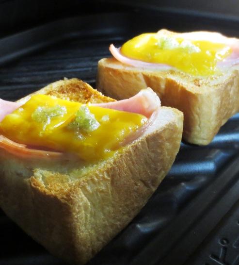 チーズわさびトースト 大