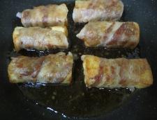 絹揚げの豚肉巻き 調理⑥