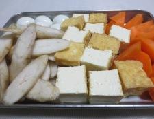新ごぼうと鶏肉の煮物 【下準備】②