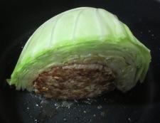 巻かない焼きロールキャベツ 調理②