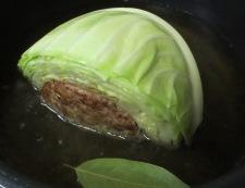 巻かない焼きロールキャベツ 調理③