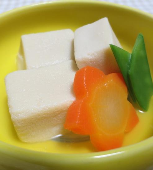 高野豆腐の炊いたん 大