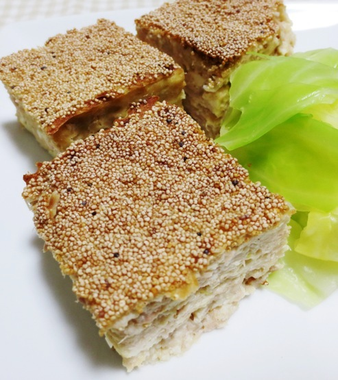 ツナと豆腐の松風焼き B
