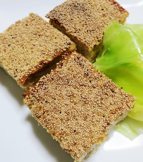 ツナと豆腐の松風焼き 拡大