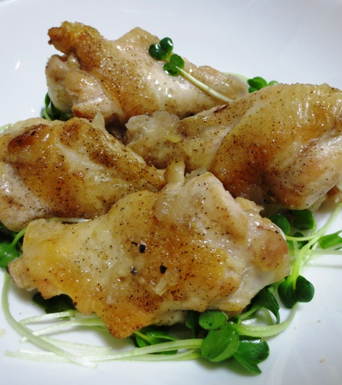 鶏手羽元の塩ジャン蒸し 大