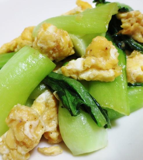 青梗菜の炒め B