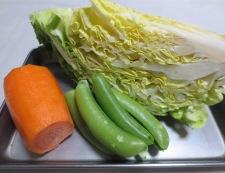 あさりと春キャベツのスープ煮 材料②