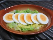 キャベツと卵のミートソースグラタン 調理②