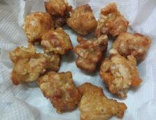 鶏の唐揚げチーズ焼き<塩ジャン> 調理④
