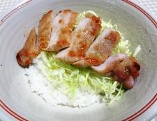 トンテキ丼エバラ焼肉のタレ 調理⑤