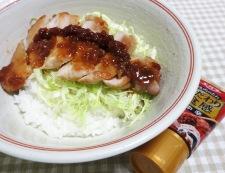 トンテキ丼エバラ焼肉のタレ 調理⑥