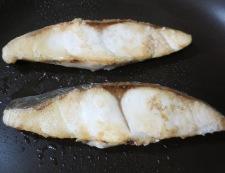 白身魚の湯葉あんかけ 調理②