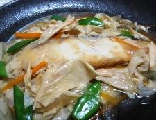 白身魚の湯葉あんかけ 調理⑥