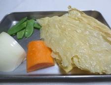白身魚の湯葉あんかけ 材料②