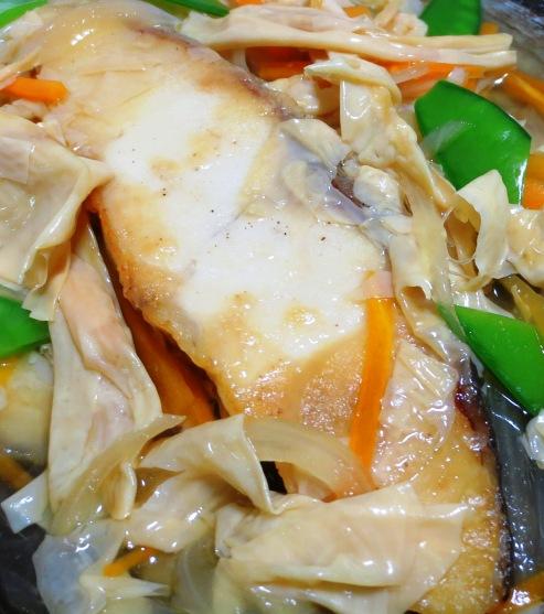 白身魚の湯葉あんかけ 拡大