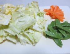 春野菜のナムル 材料