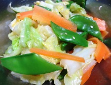 春野菜のナムル 調理