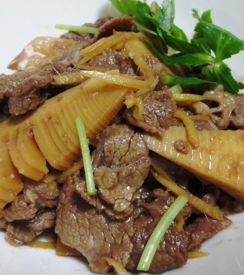 牛肉と筍のしぐれ煮 B