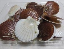 ホタテの稚貝 酒蒸し 材料