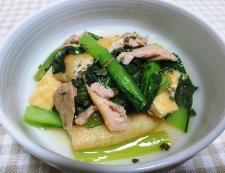 小松菜とツナの煮物<オレガノ風味> 調理⑥